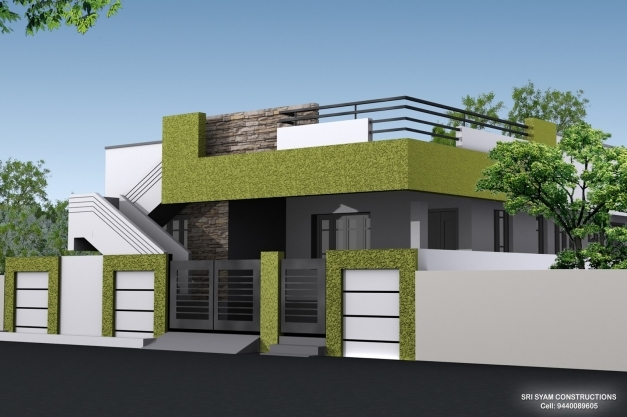Delightful Single Floor House Elevation Designing Photos Home Designs Single Floor Elevation Photos Picture