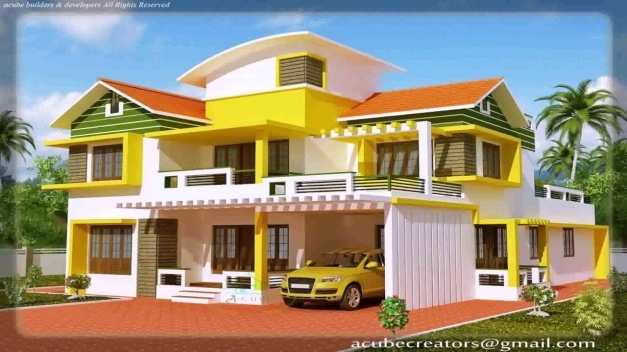Fascinating kerala house design photo gallery youtube for Blueprint photo gallery