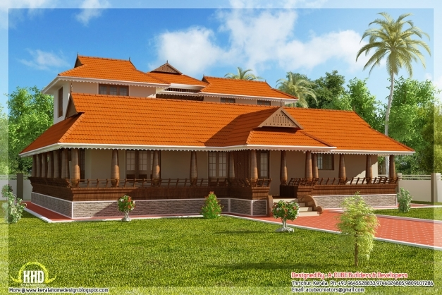 Gorgeous Uncategorized Nalukettu Model House Plan Photos Unique With Small Nalukettu House Plans Picture