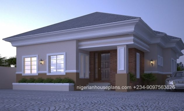 Incredible Nigerian House Plans 4 Bedroom Bungalow Designing Pinterest Nigerian House Plans Free Image