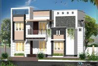 Marvelous Contemporary Style Elevations Kerala Model Home Plans Contemporary Style Homes Elevations Images