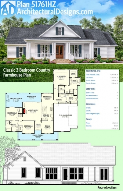 Stylish Best 25 Farmhouse Plans Ideas On Pinterest Farmhouse House Farmhouse Plans With Photos Picture