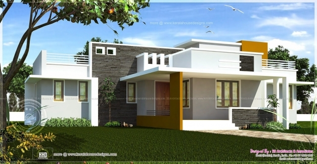 Stylish Modern Single Floor House Front Elevation Designs The House Single Floor Elevation Photos Photos