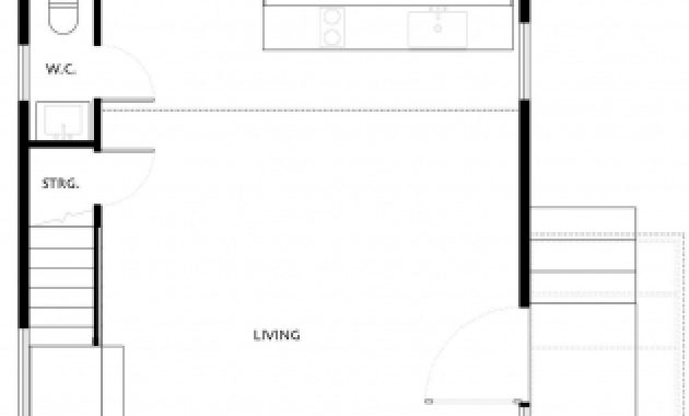 Wonderful Ground Floor Plan Simple Eco Friendly Home Perched Above Lake A Simple Ground Plan Photo
