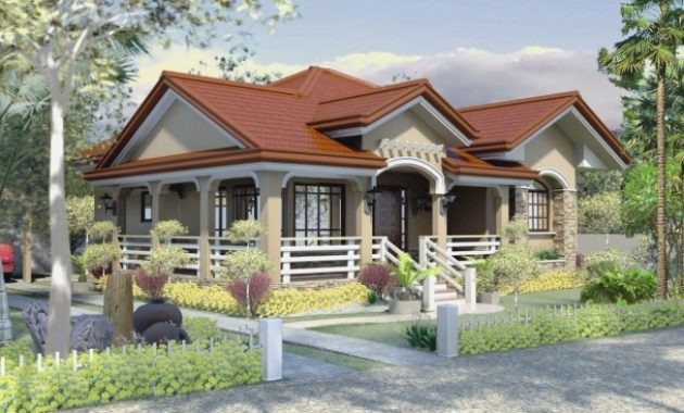 Wonderful One Story House Plan Home Design One Story House Design Pictures Image