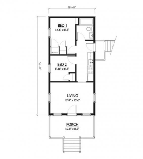 Best 1550 Home Design House Plan Ideas 15×50 House Plan Photo