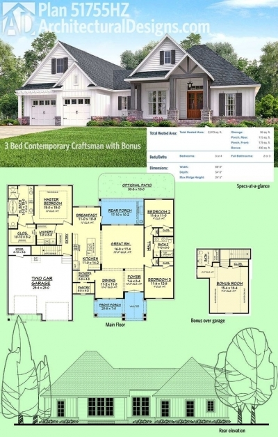 Best 3 Bedroom Bungalow In Half Plot Of Land Layout House Plan Ideas Building Designs On Half Plot Of Land Pic