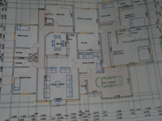Best 5 Bedroom Bungalow Plan In Nigeria House Plan Ideas Building Plans 5 Bedroom In Nigeria Pic