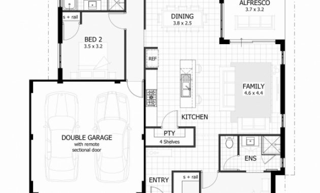 Delightful Plans Of Houses 3 Bedrooms Ideas Bedroom House With Photos Awesome 3 Floor Plans Best Image