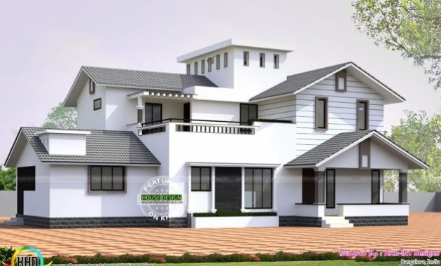 Delightful Wellsuited Kerala House Designs January 2016 Home Design And Floor Kerala House Design With Floor Plans Picture