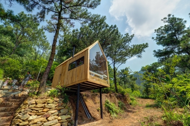 Fantastic Photo 2 Of 15 In This Minimalist Cabin In Vietnam Is The Perfect Minimalist Cabin Photo