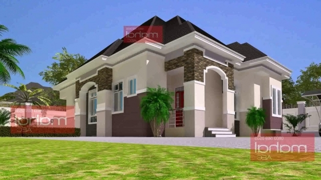 Fascinating 5 Bedroom Bungalow House Plans In Nigeria Youtube Building Plans 5 Bedroom In Nigeria Pics
