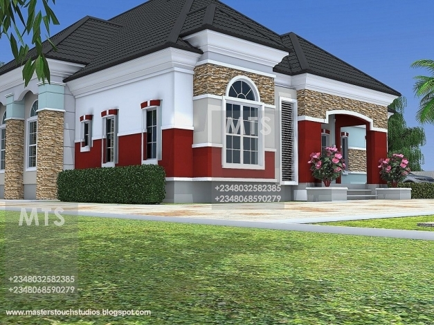 Incredible Fascinating 5 Bedroom Bungalow House Plans In Nigeria Www Building Plans 5 Bedroom In Nigeria Photo
