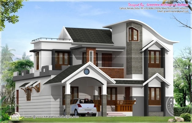 Outstanding Modern House Architecture Kerala Home Design Floor Dma Homes 371 Modern Houses In Kerala Photo Gallery Images