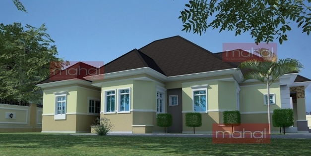 Stylish 5 Bedroom Bungalow Plan In Nigeria House Plan Ideas Building Plans 5 Bedroom In Nigeria Pictures