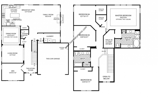 Stylish Simple 4 Bedroom 2 Story House Plans Nikura 4 Story House Plans Photo
