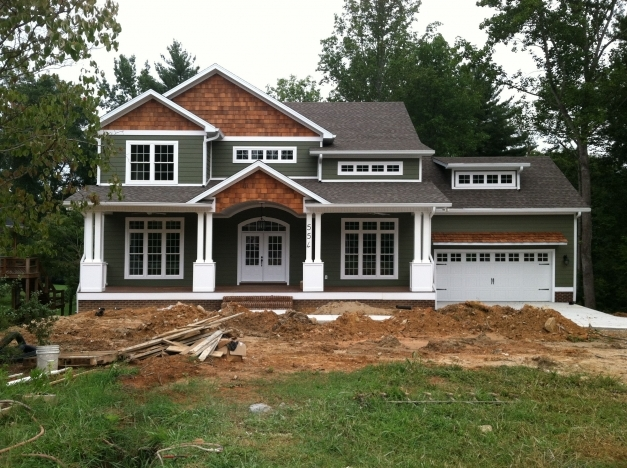 Wonderful Craftsman Style Home Turn The Garage To The Side Change The Craftsman Style Exteriors Pictures