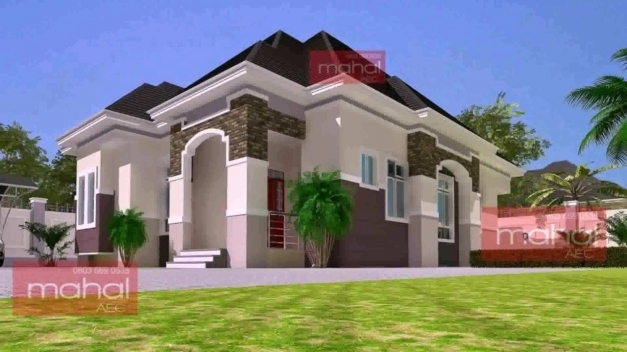Wonderful Free 5 Bedroom Bungalow House Plans In Nigeria Youtube Building Plans 5 Bedroom In Nigeria Photos