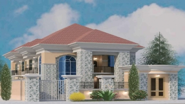 Amazing House Plans In Lagos Nigeria Youtube Beautiful Nigerian Houses Image