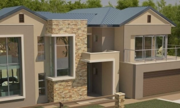 Inspiring 4 Bedroom House Contemporary Style Nethouseplansnethouseplans South African House Plan Photos
