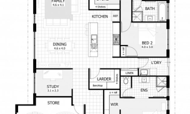 Marvelous Simple 4 Bedroom House Plans Elegant 4 Bedroom House Plans Simple Simple House Plan With 4 Bedrooms Photo