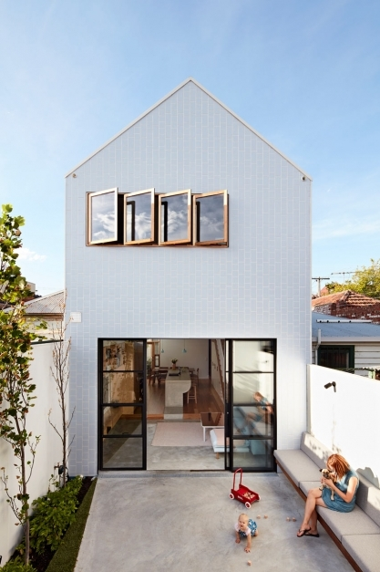 Amazing A Major Renovation For A House On A Narrow Lot Design Milk 2017 Small House Designs Photos