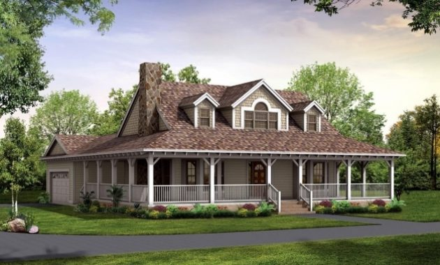 Amazing Nice House Plan With Wrap Around Porch 3 Country House Plans With Country Home Plans With Wrap Around Porch Picture