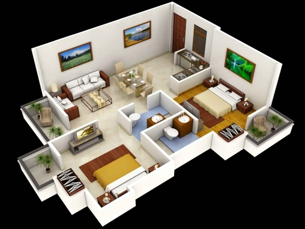 Gorgeous 1000 Sq Ft Apartment Plans Along With 1000 Sq Ft House Plans 2 1000 Sq Ft House Plans 2 Bedroom Indian Style Image