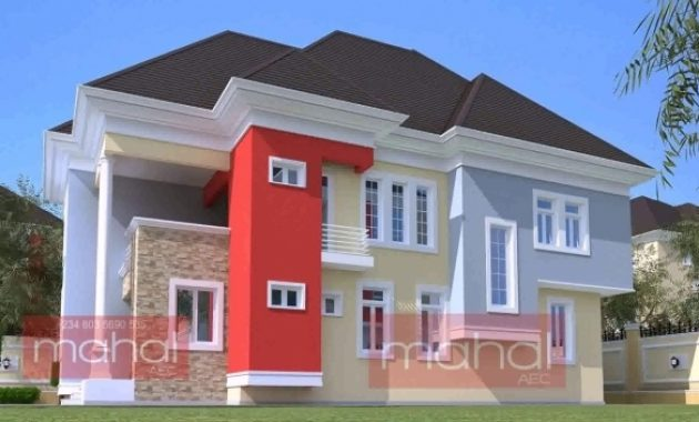 Wonderful Modern Duplex House Plans In Nigeria Youtube Modern Duplex House Plans In Nigeria Picture