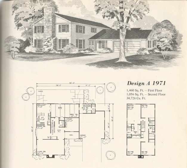 Amazing Vintage Home Plans Old West 1971 Antique Alter Ego Old House Plans Pic