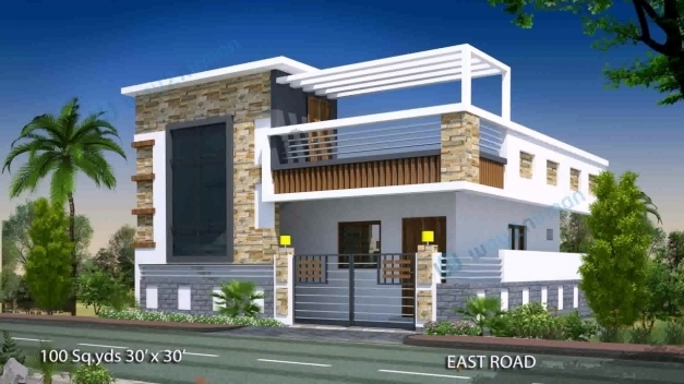 Best House Plan Design 15 X 50 Youtube 15*50 House Front Elevation Photo