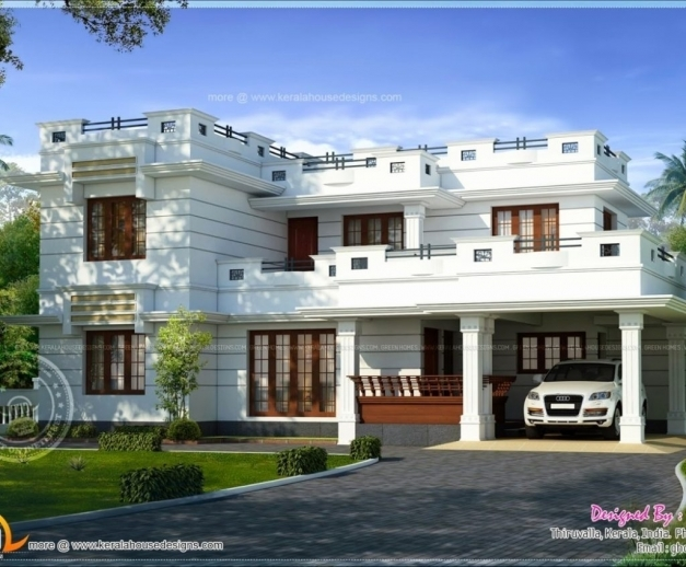 Fascinating Houseplans Simple But Nice House Plans Unique Roof Modern Flat Ina Nice House Plans Photos