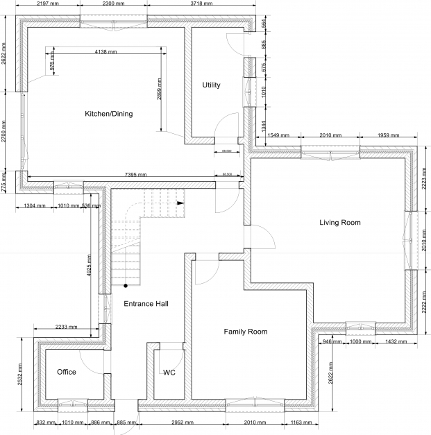 Gorgeous 2d Drawing Gallery Floor Plans House Plans 2d Plan For Residential Building Photos