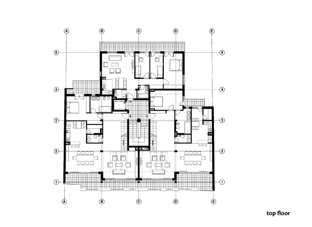 Inspiring Plan For Residential Building Homes Floor Plans 2d Plan For Residential Building Photo