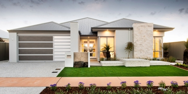 Outstanding Home Architecture Newtown Single Storey Elevation Western Australia Single Story Architecture Image