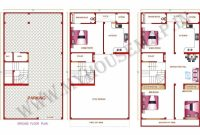 Stylish Splendid Nice House Map 15 X 40 8 Home Design 30 X 50 Home 15×50 Home Design Pictures