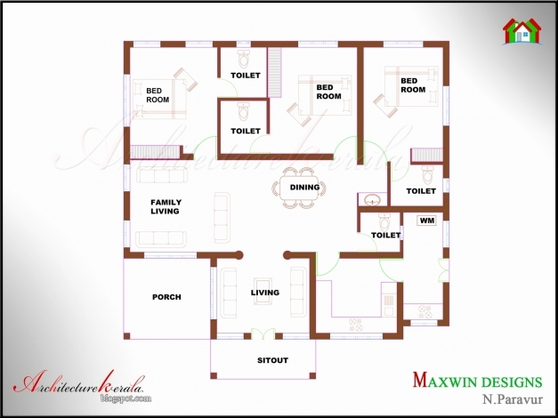 Best 3 Bedroom House Plan Indian Style Single Floor Inspirational Single 4 Bedroom House Plans Indian Style Photo