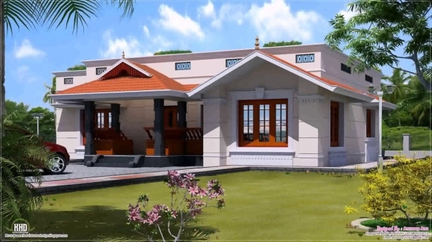 Delightful House Plans Kerala Style 1200 Sq Ft Youtube 1200 Square Feet House Image Kerala Image