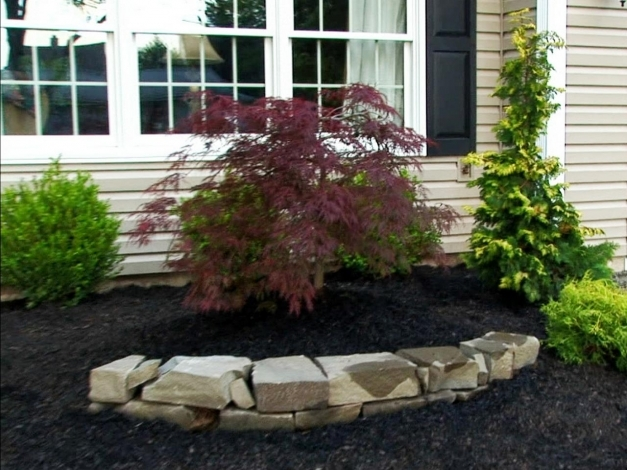 Delightful Rock Landscaping Ideas Diy Landscaping Ideas For Front Yard Using Rocks Pic