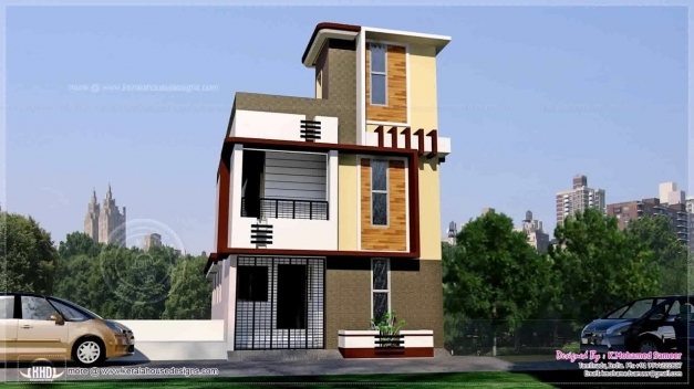 Fascinating House Design In 50 Gaj Youtube 15×50 House Elevation Pictures