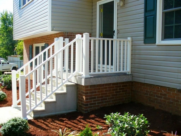 Inspiring How To Choose Porch Railing Ideas Tedxumkc Decoration Front Porch Railing Designs Picture