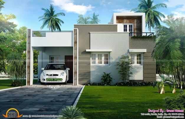 Outstanding 2 Bedroom House Plans Kerala Style 1200 Sq Feet Luxury 2 Bedroom 1200 Square Feet House Image Kerala Image