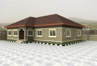 Incredible Lovely 4 Bedroom Bungalow House Plans Nigeria 8 Home For Bungalows Nairaland Floor Plans Images
