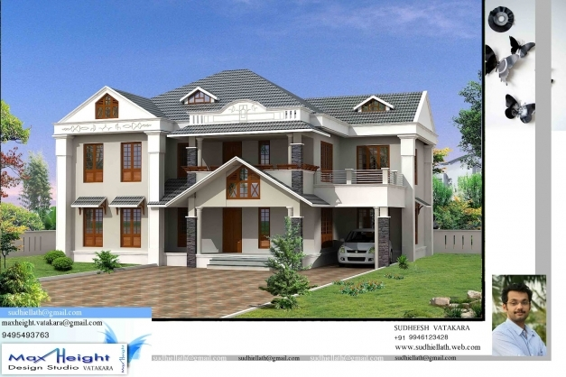 Gorgeous Kerala House Model Latest Style Home Design Architecture Plans Home Model 2017 Pic