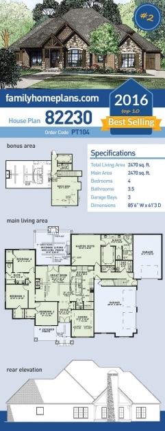 Incredible Best 25 4 Bedroom House Plans Ideas On Pinterest House Plans Pinterest 4bedroom House Plan Photo