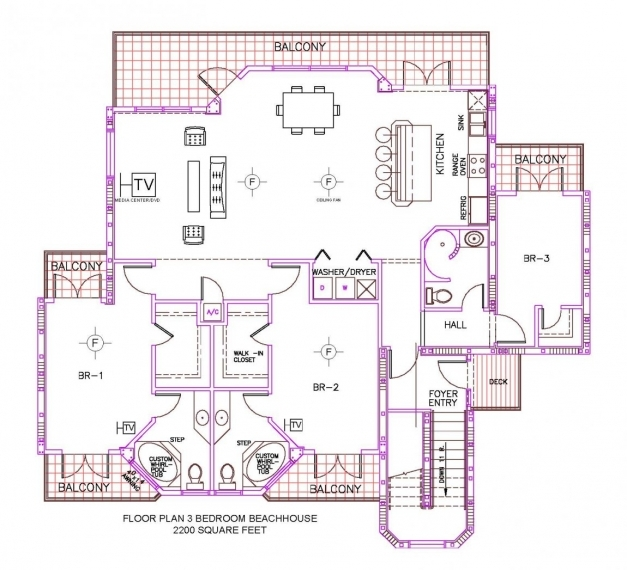 Stylish Simple 3 Bedroom House Floor Plans Bungalow Learn More Draw 3 Bedroom Plan On A Half Plot Image