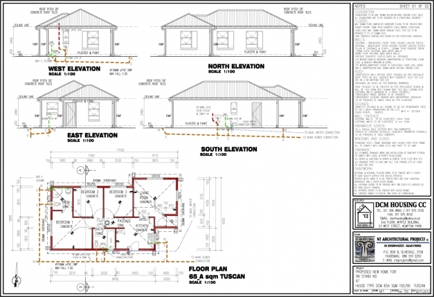 Wonderful Download South African 3 Bedroom House Plans Buybrinkhomes House Plans South Africa Images