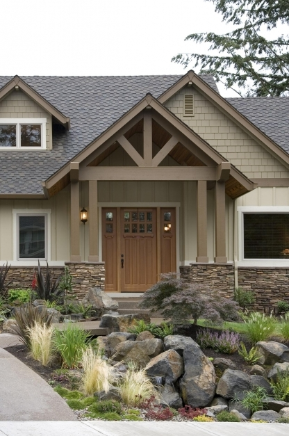 Best Exterior Color Schemes For Ranch Style Homes Home Design Ideas Ranch Home Exterior Ideas Pics