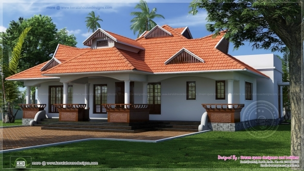 Delightful Traditional Kerala Style One Floor House Kerala Home Design And Traditional Home Planskerala Images