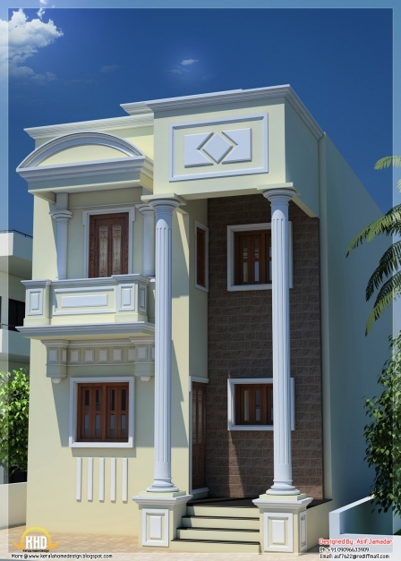 Fascinating June 2012 Kerala Home Design And Floor Plans 50 Square Feet Long House In India Photo